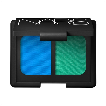 NARS Mad Mad Word Eyeshadow Duo -- Cyan and Parakeet Green