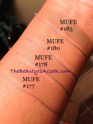 20130211-150940.jpg. Swatches on NW43 skin of MUFE's new Pro Finish Powder ...