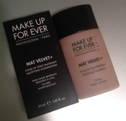 Make Up For Ever Velvet Mat Plus Foundation in #75 Shade